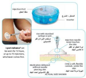 جهاز حقن الانسولين 1