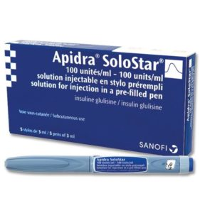 Apidra SoloStar6002PPS0 281x300 - ماهو الانسولين
