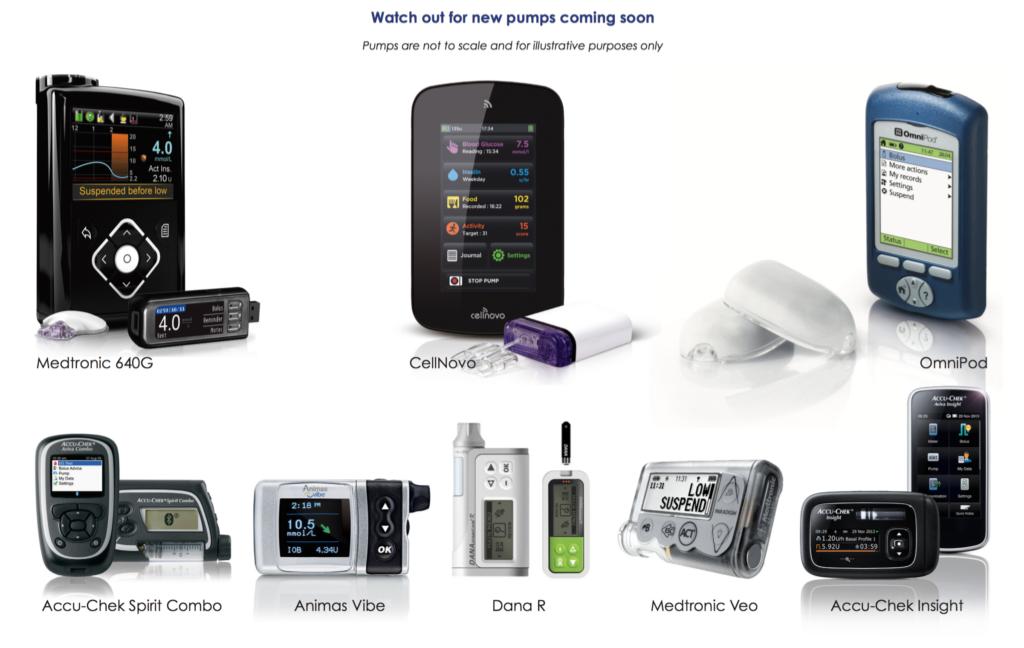 لمحة عن انواع مضخة الانسولين