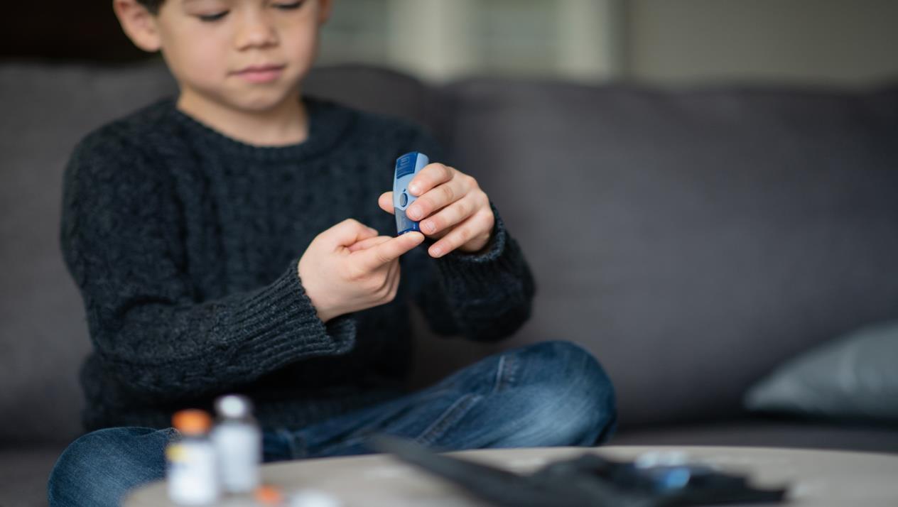 مرض السكر النوع الاول عند الاطفال